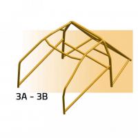 [SPARCO bezpečnostný rám RENAULT séria R1134 model (R8 Gordini) od roku výr. 1964 - 1971]
