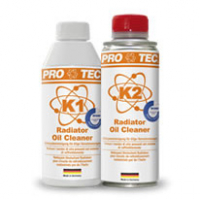 [PRO-TEC RADIATOR OIL CLEANER K1 + K2 - Čistič chladiacej sústavy od oleja – 2 zložkový]