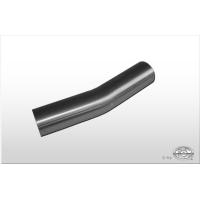 [Nerezová rúra ohnutá 15° nerozšírená d1= 45mm Dĺžka: cca 125mm]
