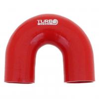"""[Silikónové koleno TurboWorks 180°- 63mm (2,5"""")]"""