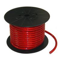 [Kábel napájací, silový 50mm červený, kvalitný]