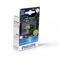 [Autožiarovky PHILIPS Festoon X-tremeVision LED T10,5x38 4000 K]