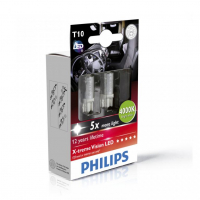 [Autožiarovky PHILIPS T10 X-tremeVision LED 4000K - 24V]