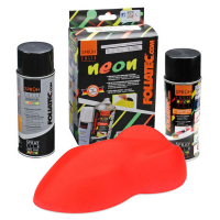 [FOLIATEC Guma v spreji NEON 2 pc. Set - RED]