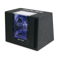 [Alpine SBG-1244BP Subwooferový Box s Bass Reflexom]