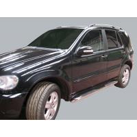 [Nerezové bočné rámy Mercedes ML-Klasse W163  [1998-2005]]