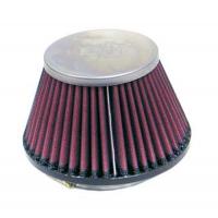 [Univerzální Vzduchový Filtr K&N - Chrome Filtr ; Oval Flange RC-9720]