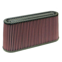 [Univerzální Vzduchový Filtr K&N - Carbon Fiber Top RF-1050]