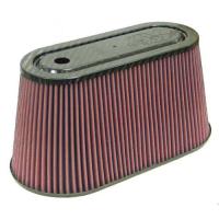 [Univerzální Vzduchový Filtr K&N - Carbon Fiber Top and Base RP-5070]