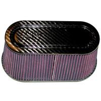 [Univerzální Vzduchový Filtr K&N - Carbon Fiber Top and Base RP-5115]