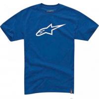 [Pánske modro-biele tričko Ageless CLASSIC TEE Alpinestars krátke 1032-72030 7920]