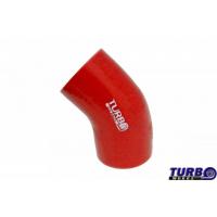 [Kolanko redukcyjne silikon TurboWorks Red 45st 76-102mm]