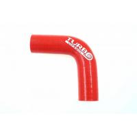 [Kolanko redukcyjne silikon TurboWorks Red 90st 25-38mm]