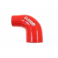 [Kolanko redukcyjne silikon TurboWorks Red 90st 63-70mm]
