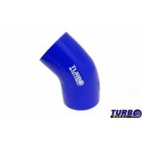 [Kolanko silikonowe TurboWorks Blue 45st 60mm]