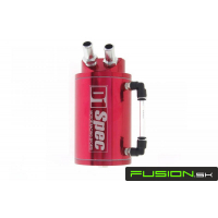 [Oil catch tank - D1 SPEC 15 mm RED]