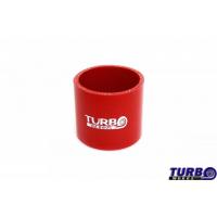 [Łącznik silikonowy TurboWorks Red 76mm]