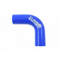 [Kolanko silikonowe TurboWorks Blue 90st 12mm]