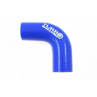 [Kolanko silikonowe TurboWorks Blue 90st 40mm]