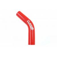 [Kolanko silikonowe TurboWorks Red 45st 12mm]