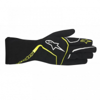 [Detské Rukavice Alpinestars TECH 1-K RACE S - BLACK YELLOW FLUO]