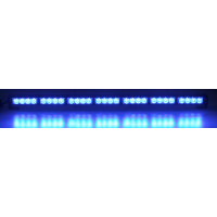 [LED Svetelná Rampa 800mm, 28x LED 3W, Modrá ECE R10 R65]