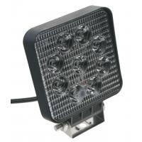 [LED extra SLIM svetlo na prac. stroje 10-30V, 9x3W]