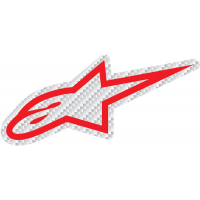 [Samolepka 14 cm červená CARBON Alpinestars 1033-97073 2030]