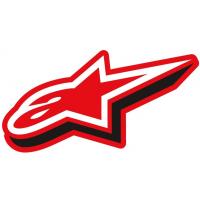 [Samolepka 7 cm červená duly Alpinestars 1033-97075 30]