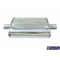 "[Centrálny tlmič TurboWorks LT 304SS Center (2,25"") Center (2,25"")]"