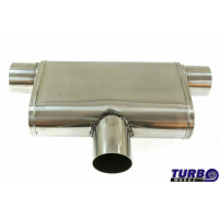 """[Centrálny tlmič Zadný TurboWorks LT 304SS Center (3"""") Zadný (3"""") L]"""