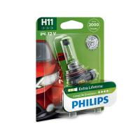 [Autožiarovky PHILIPS H11 LongLife EcoVision - ExtraLifetime 2000hod]