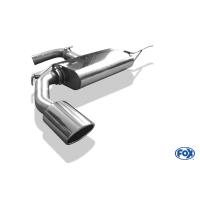 [Nerezový koncový tlmič FOX 129x106mm (Typ 32) pre VOLKSWAGEN Eos - 1F 2006-2011]
