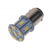 [LED BA15d (jednovlákno) biela, 12V, 13LED / 5730SMD]