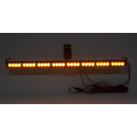 [LED světelná alej, 32x 3W LED, oranžová s displejem 910mm, R10 R65]