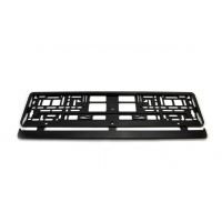 [License Plate Frame - BLACK]