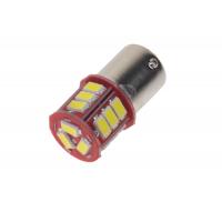 [LED BAY15d (dvouvlákno) bílá, 12-24V, 18LED/5730SMD]