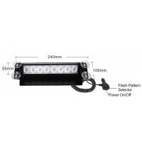 [PREDATOR LED vnitřní, 8x3W, 12-24V, modrý, 240mm, CE]