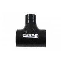 [Łącznik T-Piece TurboWorks Black 77-9mm]