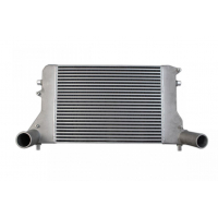 "[Intercooler TurboWorks VW Golf V Audi A3 564x413x57 wejście 2,75"" Bar&Plate]"