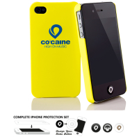 [Co: caine Slap Yellow iPhone 4 / 4S]