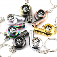 [Keychain Turbocharger Brown]