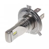 [CSP LED H4 biela, 12-24V, 3x10W, chróm]