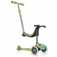 [Kolobežka GLOBBER EVO 4 IN 1 PLUS LIGHTS LIME GREEN]
