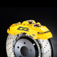 [Big Brake Kit D2 Bentley CONTINENTAL GT V8 MK2 11~18 Tył]