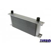 [Chladič oleja TurboWorks 16-radov 260x125x50 AN10 strieborný]