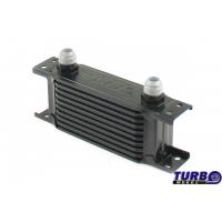 [Chłodnica Oleju TurboWorks Slim Line 10-rzędowa 140x75x50 AN10 black]
