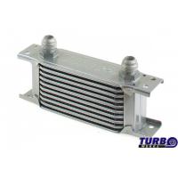 [Chłodnica Oleju TurboWorks Slim Line 10-rzędowa 140x75x50 AN10 silver]