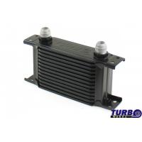[Chłodnica Oleju TurboWorks Slim Line 13-rzędowa 140x100x50 AN8 black]