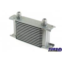 [Chłodnica Oleju TurboWorks Slim Line 13-rzędowa 140x100x50 AN8 silver]